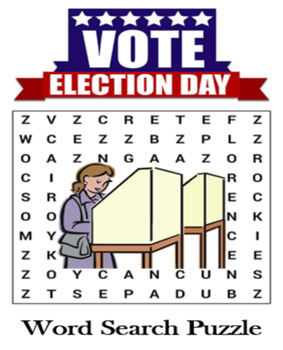 Election Word Search Puzzle