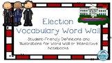 Election Word Wall- Student Friendly Vocabulary Cards