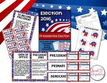 ELECTION AND BRANCHES OF GOVERNMENT Bundle