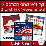 ELECTION, VOTING, AND BRANCHES OF GOVERNMENT BUNDLE (updated)