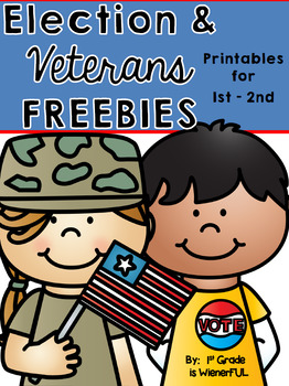 Election and Veterans Week FREEBIE