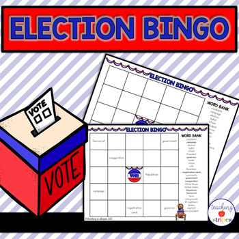 Election and Voting Bingo Game- Freebie! #weholdthesetruths #kindnessnation
