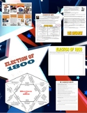 Election of 1800 Notes, Mini-Book, Puzzle, and Worksheet