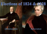Election of 1824 and Election of 1828 Lesson Plan