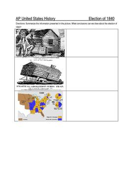Election of 1840 DBQ