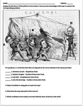 Election of 1860 Lesson