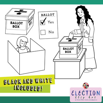 Elections and Voting Clip Art