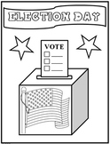 Elections Day Coloring Page {FREEBIE} ...