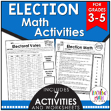 Election Elementary Math Activities