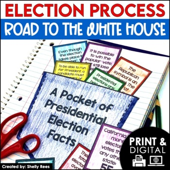 Election Process Interactive Notebook and Mini Unit