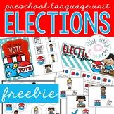 Elections Preschool Language Unit