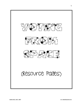 Elections:  Voting from Space (Resource Pages)