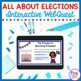 Elections WebQuest Google Slides Distance Learning