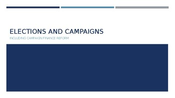 Elections and Campaigns PPT (AP US Government)