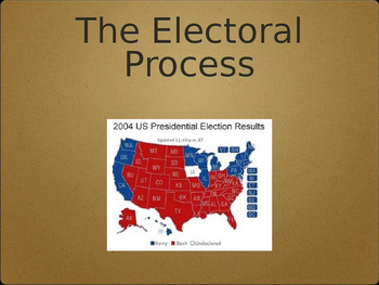 Elections and Voting Notes
