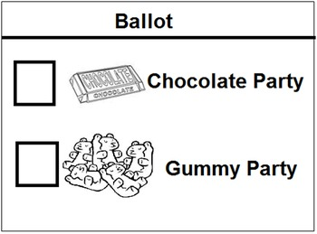 Elections and Voting Powerpoint and Mock Voting Activity (Package)