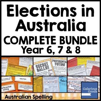 Elections in Australia Bundle