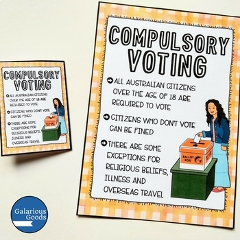 Australian Elections Poster Set