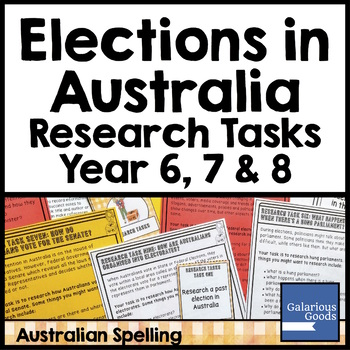 Elections in Australia Research Tasks