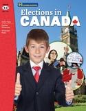 Elections in Canada Grades 4-8 (Enhanced eBook)