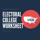 Electoral College Activity