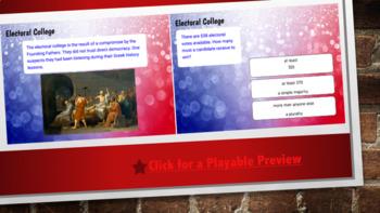 Electoral College - Boom Cards