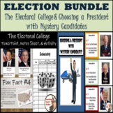 Election Bundle - Electoral College and Voting with Myster