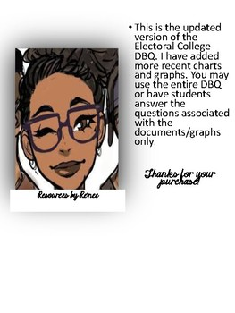 electoral college dbq by re nee resources teachers pay teachers