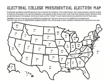 Electoral College Election Map