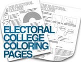 Electoral College Explained  (Almost) Grown Up Coloring Pages