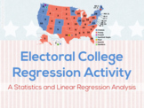 Electoral College Linear Regression Google Drive Activity