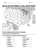 Electoral College Map Worksheet