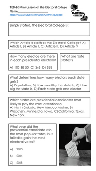Electoral College Mini-Lesson