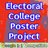 Electoral College Poster Project: Integrate Math into Social Studies! Google 1:1