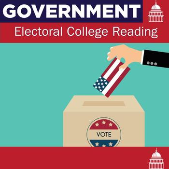 Electoral College Reading and Questions