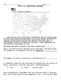Electoral College Worksheet