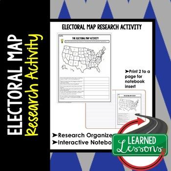 Electoral Map Graphic Organizer