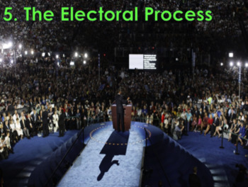 The Electoral Process/Voting and Elections (U.S. Government) Bundle with Video