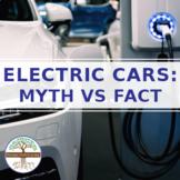 Electric Cars: Myth vs Fact BUNDLE (Digital PDF and Google Slides Hyperdoc)