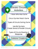 Distance Learning Electric Circuit Activites
