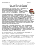 Electric Circuit Challenge - STEM Investigation