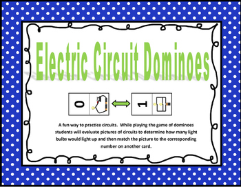 Electric Circuit Dominoes Game