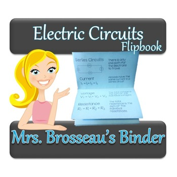 Electric Circuit Flipbook - Ohm's Law, Series, Parallel & Mixed Circuits