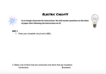Electric Circuit Lab