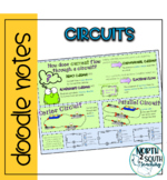 Electric Circuits Doodle Notes