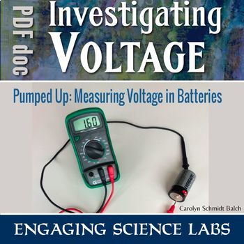 Electric Circuits Measuring Voltage of Batteries — Hands-on lab activity
