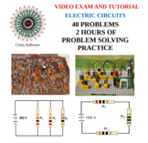 Electric Circuits Problem Solving Video Exam and Tutorial
