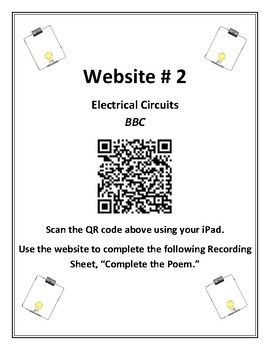 Electric Circuits and QR Code Activities (2)