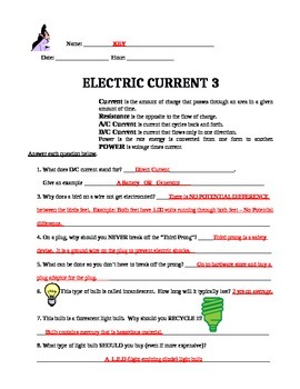 Electric Current 3