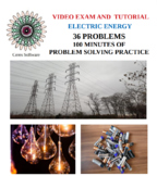 Electric Energy and DC Circuits Problem Solving Video Exam